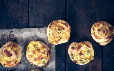 Horgan's Savoury Ham & Cheddar Muffins