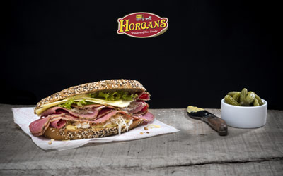 Horgan's Authentic New York Style Pastrami Sandwich