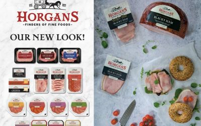 A fresh new look for the Horgan's branded range.